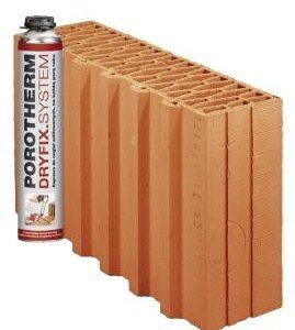 Керамічний блок Porotherm 38 1\2 Dryfix
