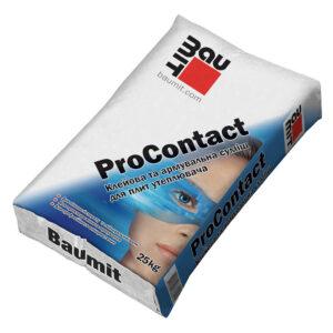Професійна клей-шпаклівна суміш Baumit ProContact